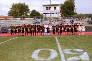 2018 BWHS Football and Cheer Senior Night Pics