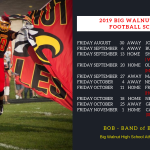 Big Walnut HS Football – 2019 Football Schedule Release