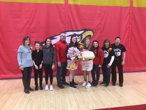 2019 Big Walnut Girls Basketball – Senior Night