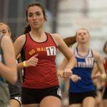 Girls Varsity Indoor Track Team finishes season at Indoor State Championship