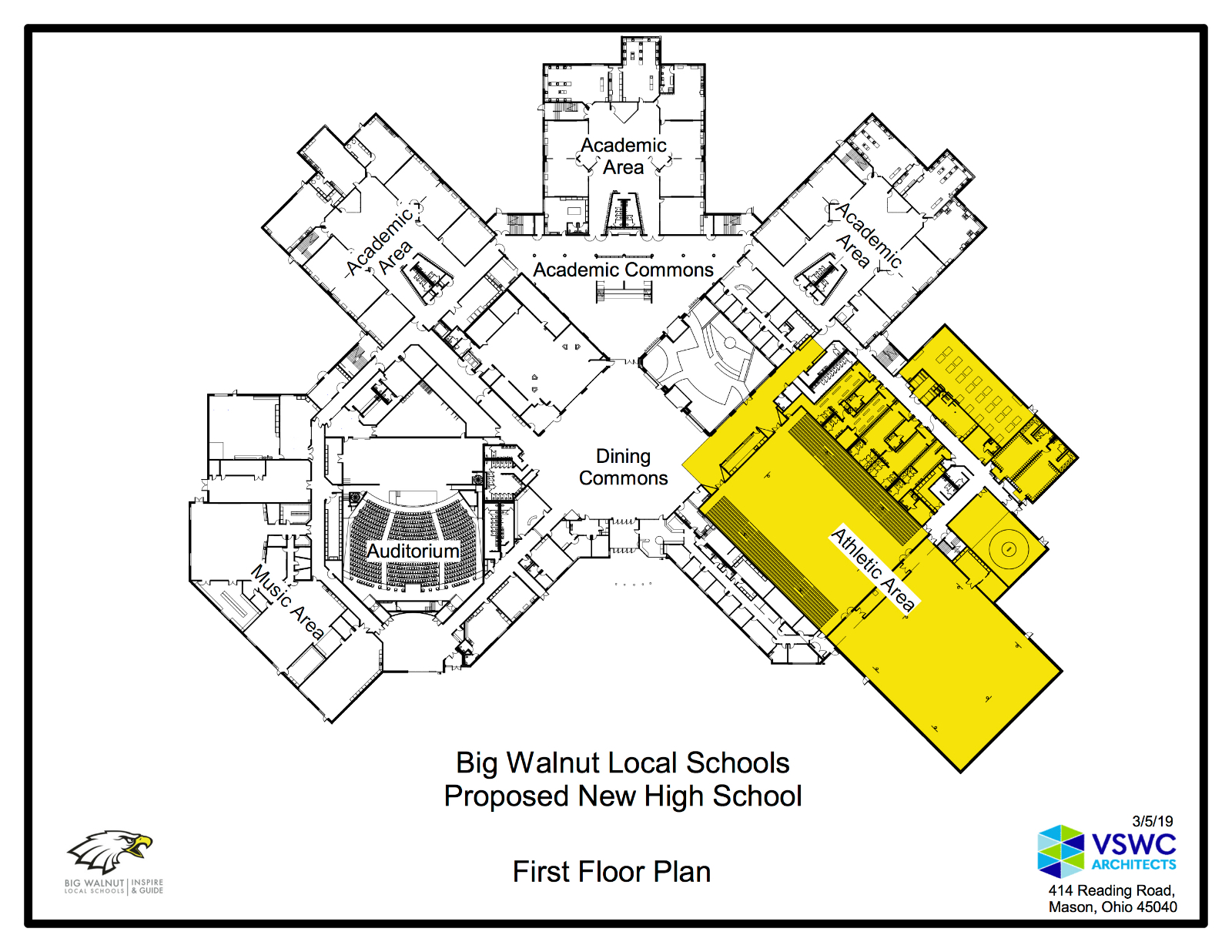 New BWHS Construction Update – Athletic Wing
