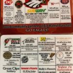 Get your Discount Baseball Cards for Local Sunbury & Westerville Businesses