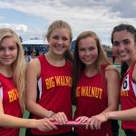 Big Walnut Girls Track – distance medley school record