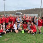 Girls Varsity Track finishes 1st place at Hank Smith Invitational! Improves to 46-2 on the year!