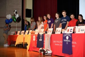 Big Walnut High School Spring 2019 – College Signing Day Pics