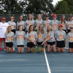 MS Girls Tennis Victory over Hilliard Weaver 9.11.19