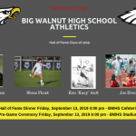 Evener, Hamm, Ault and Fleak – Big Walnut Athletics 2019 Hall of Fame – Bios