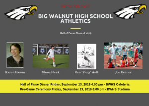 Big Walnut Hall of Fame 2019 – Pictures