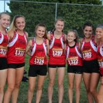 Girls Cross Country finishes 5th place at Watkins Invitational – Borland 1st place!