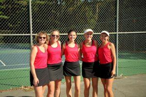 2019 BWHS Girls Tennis