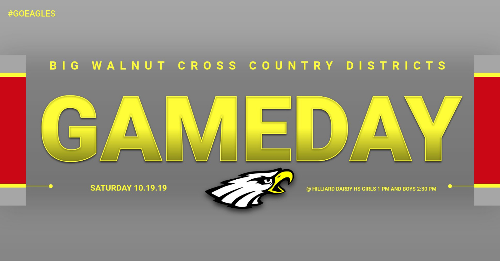 OHSAA DISTRICT CROSS COUNTRY CHAMPIONSHIPS – GAMEDAY