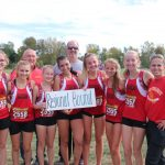 Girls Cross Country place 4th, advance to the Regional 2nd time in 3 years.