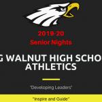 Big Walnut Athletics Winter 2019-20 – Senior Nights and Special Events