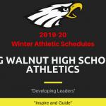Big Walnut HS Winter Athletic Schedules