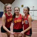 Girls' Indoor Track off to a great start!! 9 Individuals, 2 relays ranked top 40 in the State!