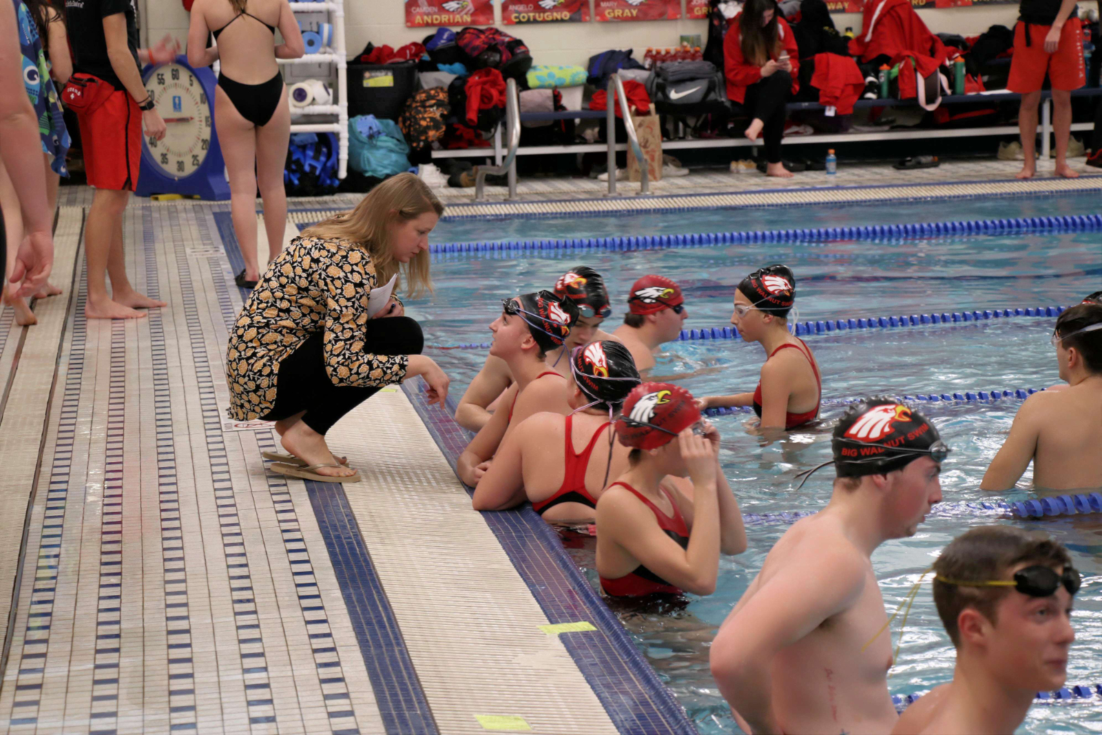Good luck Big Walnut Swim and Dive teams today 2/13 at OHSAA Districts