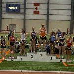Colbi Borland places 6th in the 3200m run!!