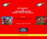 Football – Big Walnut vs Hayes – Live Stream – NFHS Network