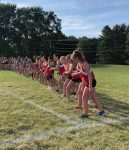 Girls' Cross Country team finishes 2nd place at Berlin Tri meet, set 5 school records!