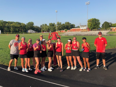 9.8.2020 BWHS Girls Tennis Senior Recognition and Candid Pictures