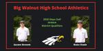 Austen Bennett and Blake Shade – Boys Golf – District Qualifiers