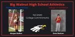 Big Walnut HS Athletics – Fall College Signing Day 2020