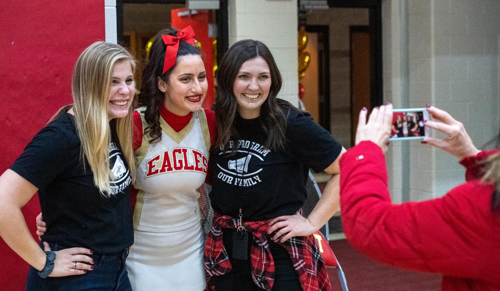 PHOTO GALLERY: Big Walnut cheerleaders' virtual performance