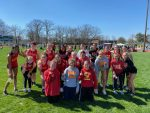 Girls' Track finishes 1st place at Northland, Shuttle Hurdles Team breaks 25 yr old record.
