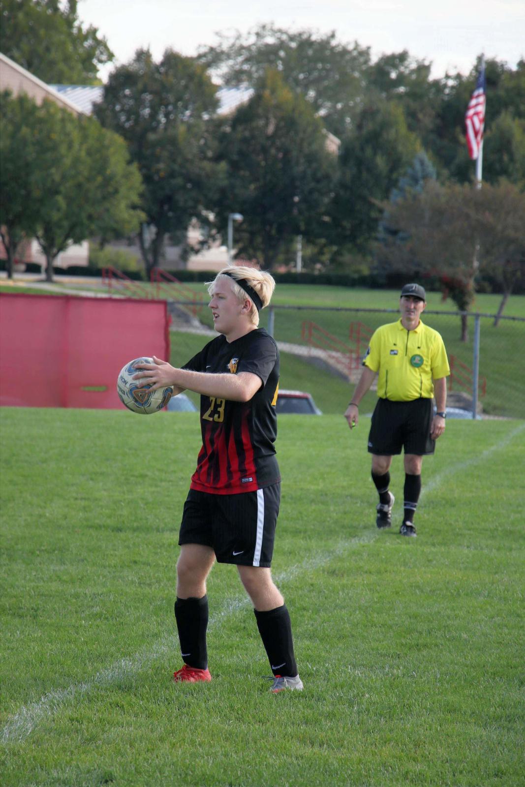 2020 BWHS Boys Soccer Senior Recognition