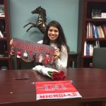 Jennifer Olivarez signs to Nicholls State University