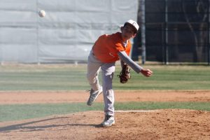 Boys Junior Varsity Baseball Orange