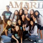 Caprock High School Girls Varsity Wrestling finishes 1st place