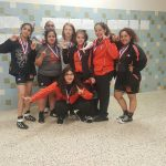 Caprock High School Girls Junior Varsity Wrestling finishes 1st place