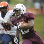 Varsity Football remains UNDEFEATED with 69 – 0 Win