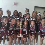 Competition Cheer 2nd Place Finish @ North Atlanta