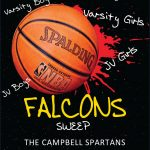 Falcons Sweep Campbell Basketball Games