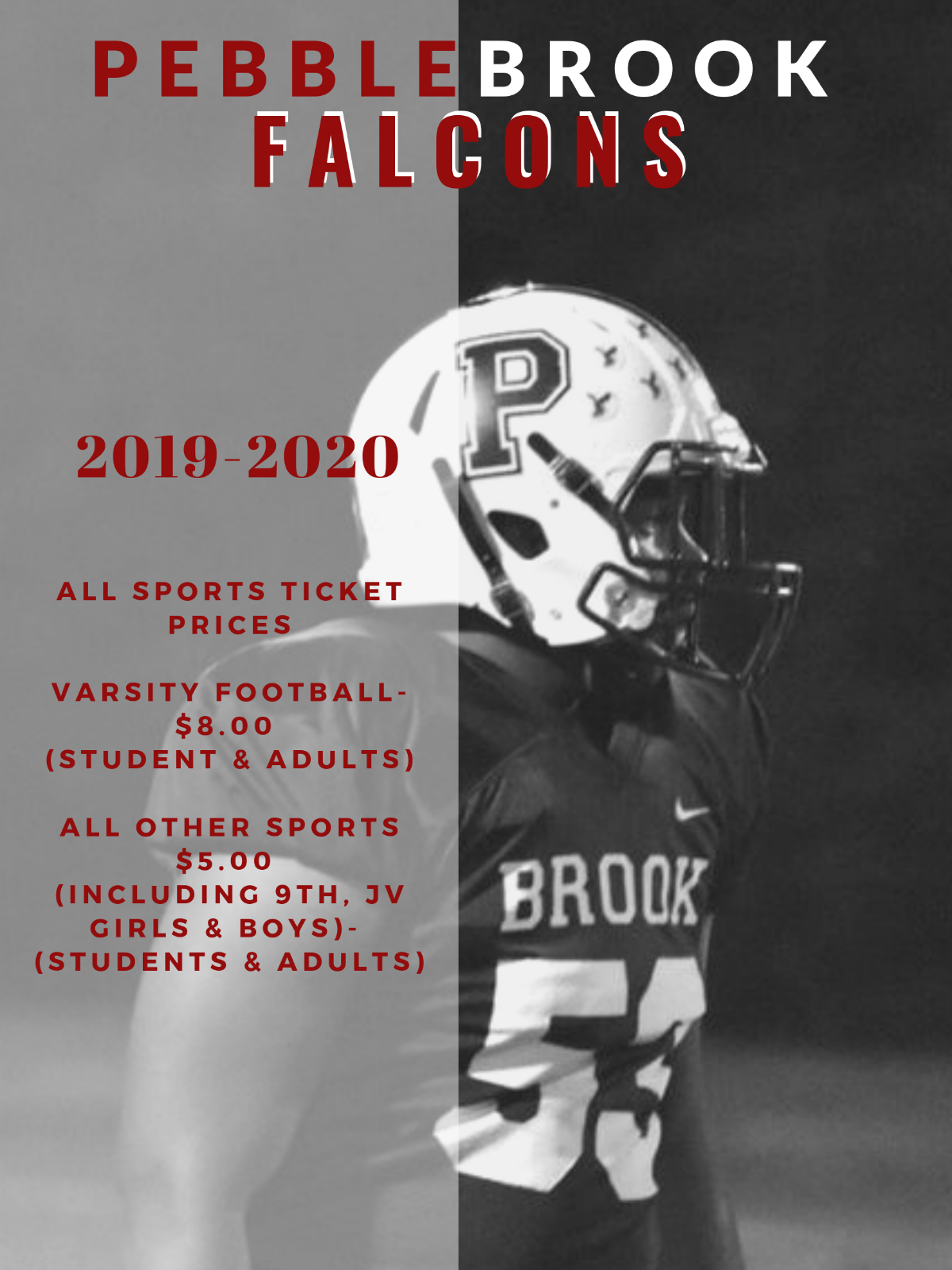 2019-2020 All Sports Ticket Prices