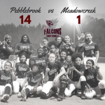 Pebblebrook Falcons Defeat Meadowcreek