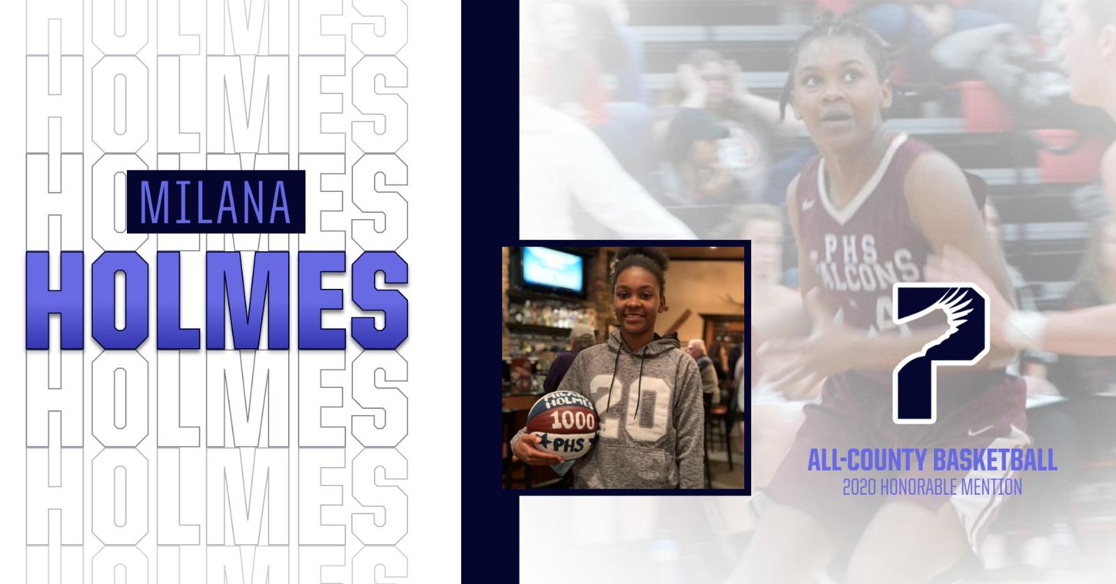 Milana Holmes Honored