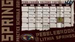 Spring Football Schedule