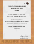Football Virtual Award Banquet March 25th