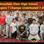 Mountain View High School Coed Varsity Wrestling beat Orem High School 37-36