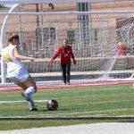 Girls JV Soccer tie Hurricane 1 – 1
