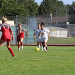 Girls Junior Varsity Soccer battles against Alta.