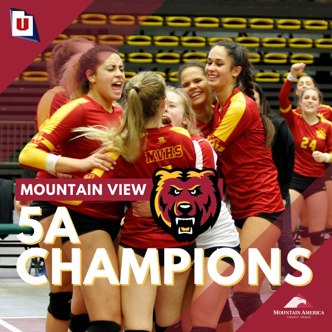 Mountain View wins volleyball state championship