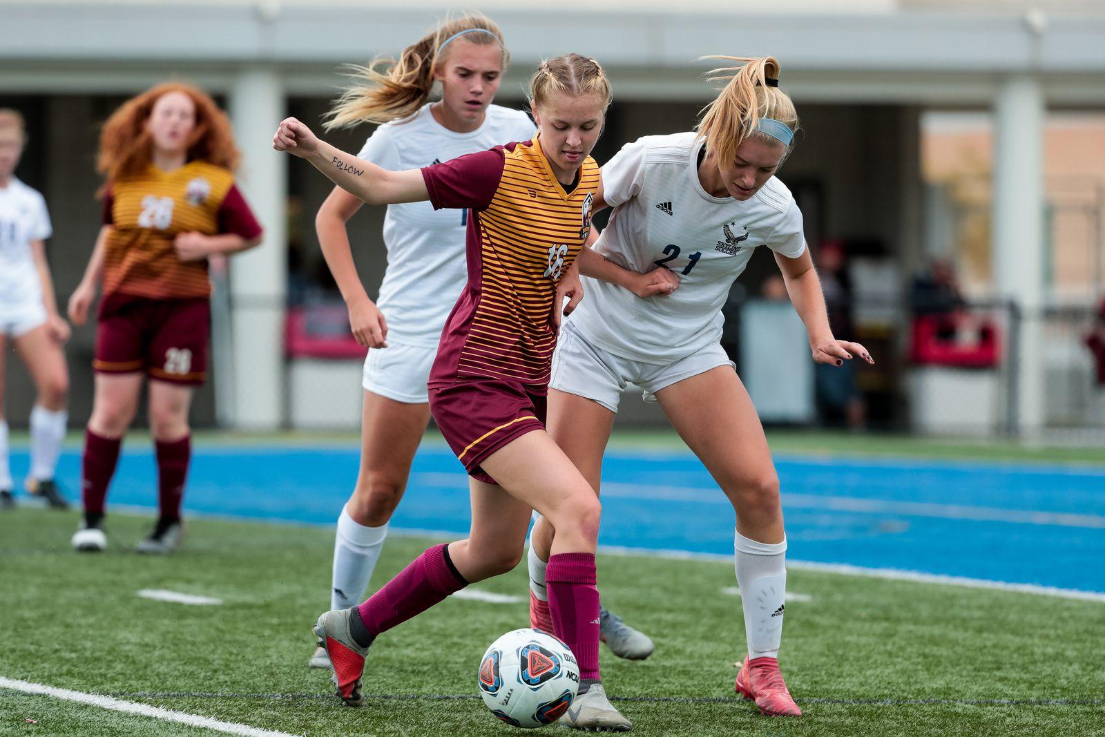 Girls Soccer: Academic, all-region, varsity letter awards