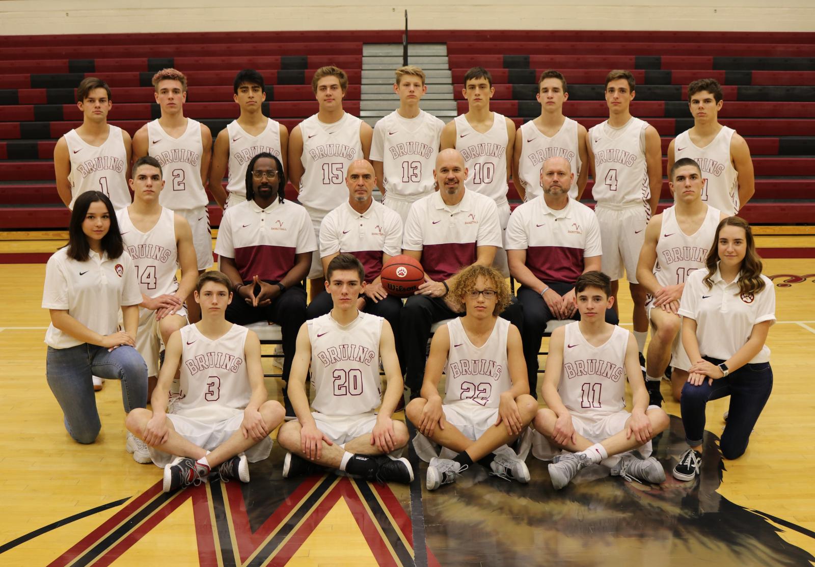 Boys Basketball Team Announced