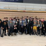 Wrestling takes 1st place at Hunter Duels.