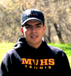 Senior spotlight on Sebastian Peña, tennis player