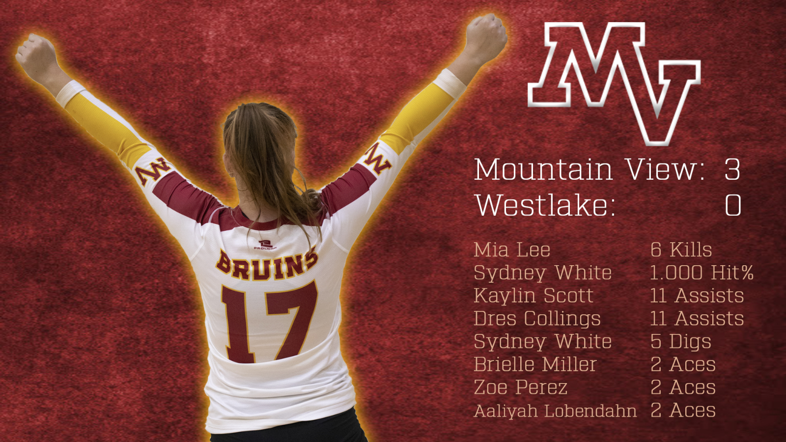 Mountain View Bruins Volleyball